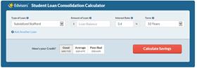 student loan calculator multiple loans